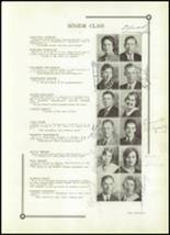 1933 Benton High School Yearbook Page 20 & 21