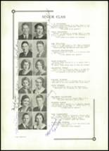 1933 Benton High School Yearbook Page 22 & 23