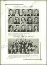 1933 Benton High School Yearbook Page 32 & 33