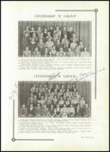 1933 Benton High School Yearbook Page 34 & 35