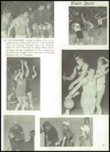 1971 Mt. Mansfield Union High School Yearbook Page 100 & 101
