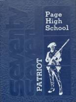 1977 Yearbook Page High School