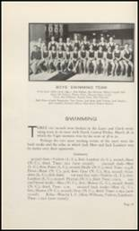 1930 Lewis & Clark High School Yearbook Page 80 & 81