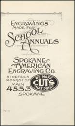 1930 Lewis & Clark High School Yearbook Page 134 & 135