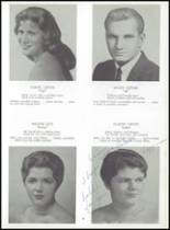 1959 East Rutherford High School Yearbook Page 62 & 63