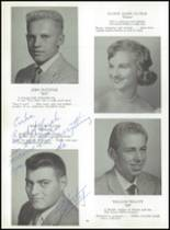 1959 East Rutherford High School Yearbook Page 74 & 75