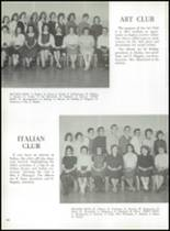 1959 East Rutherford High School Yearbook Page 124 & 125