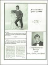 1992 Boiling Springs High School Yearbook Page 268 & 269