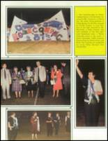 1990 China Spring High School Yearbook Page 20 & 21