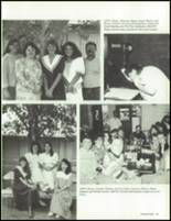1990 China Spring High School Yearbook Page 38 & 39