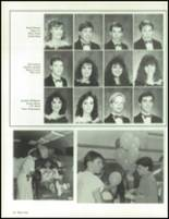 1990 China Spring High School Yearbook Page 42 & 43