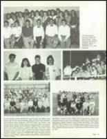 1990 China Spring High School Yearbook Page 50 & 51
