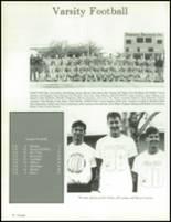 1990 China Spring High School Yearbook Page 70 & 71