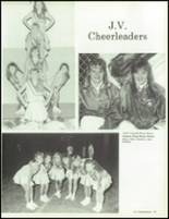 1990 China Spring High School Yearbook Page 88 & 89