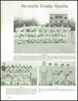 1990 China Spring High School Yearbook Page 94 & 95