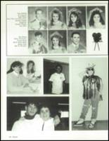 1990 China Spring High School Yearbook Page 106 & 107
