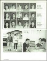 1990 China Spring High School Yearbook Page 122 & 123