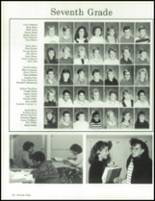 1990 China Spring High School Yearbook Page 132 & 133