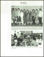1990 China Spring High School Yearbook Page 154 & 155