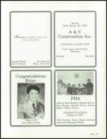 1990 China Spring High School Yearbook Page 198 & 199