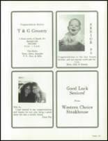 1990 China Spring High School Yearbook Page 210 & 211