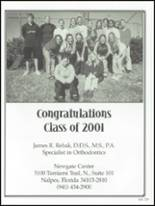 2001 Naples High School Yearbook Page 232 & 233