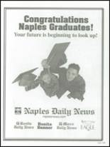 2001 Naples High School Yearbook Page 264 & 265