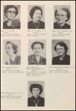 1950 Burleson High School Yearbook Page 20 & 21