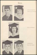 1950 Burleson High School Yearbook Page 26 & 27