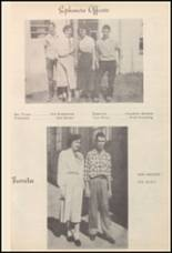 1950 Burleson High School Yearbook Page 36 & 37