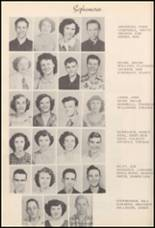 1950 Burleson High School Yearbook Page 38 & 39
