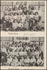 1950 Burleson High School Yearbook Page 44 & 45
