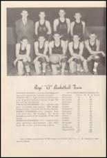1950 Burleson High School Yearbook Page 56 & 57