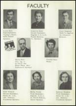 1953 Holmesville High School Yearbook Page 12 & 13