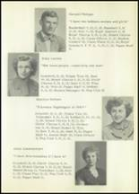 1953 Holmesville High School Yearbook Page 18 & 19