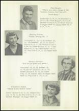 1953 Holmesville High School Yearbook Page 20 & 21