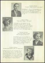 1953 Holmesville High School Yearbook Page 22 & 23