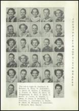 1953 Holmesville High School Yearbook Page 48 & 49