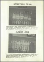 1953 Holmesville High School Yearbook Page 56 & 57