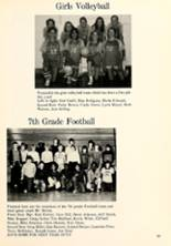 1975 Lakeside Middle School Yearbook Page 54 & 55