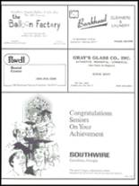 1988 Carrollton High School Yearbook Page 158 & 159