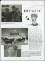 2003 Limon High School Yearbook Page 20 & 21
