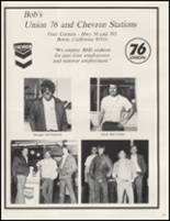 1979 Boron High School Yearbook Page 108 & 109