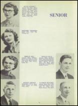 1952 Ada High School Yearbook Page 14 & 15