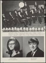 1967 Crescent High School Yearbook Page 28 & 29