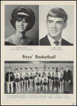 1967 Crescent High School Yearbook Page 42 & 43