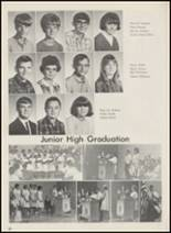 1967 Crescent High School Yearbook Page 56 & 57
