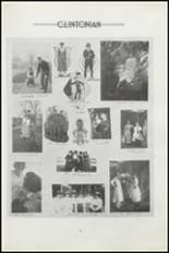 1919 Clinton High School Yearbook Page 46 & 47