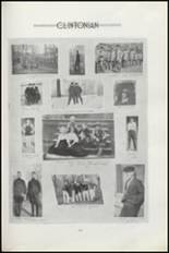 1919 Clinton High School Yearbook Page 104 & 105