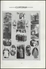 1919 Clinton High School Yearbook Page 108 & 109